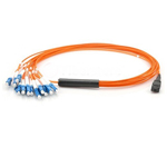 OM2 50/125 Multimode MPO Fan-out Patch Cords